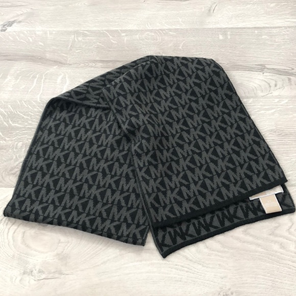 Michael Kors Accessories - Michael Kors Scarf Black and Grey